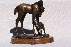 Bronze, limited edition of 10